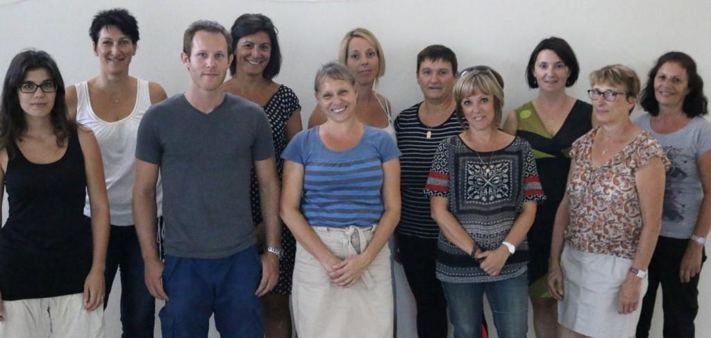 Equipe enseigante 2015