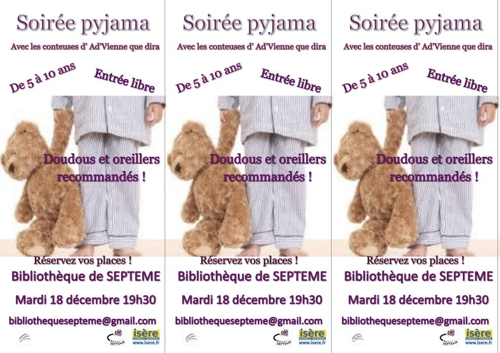 pyjama 18 décembre 2018 flyers