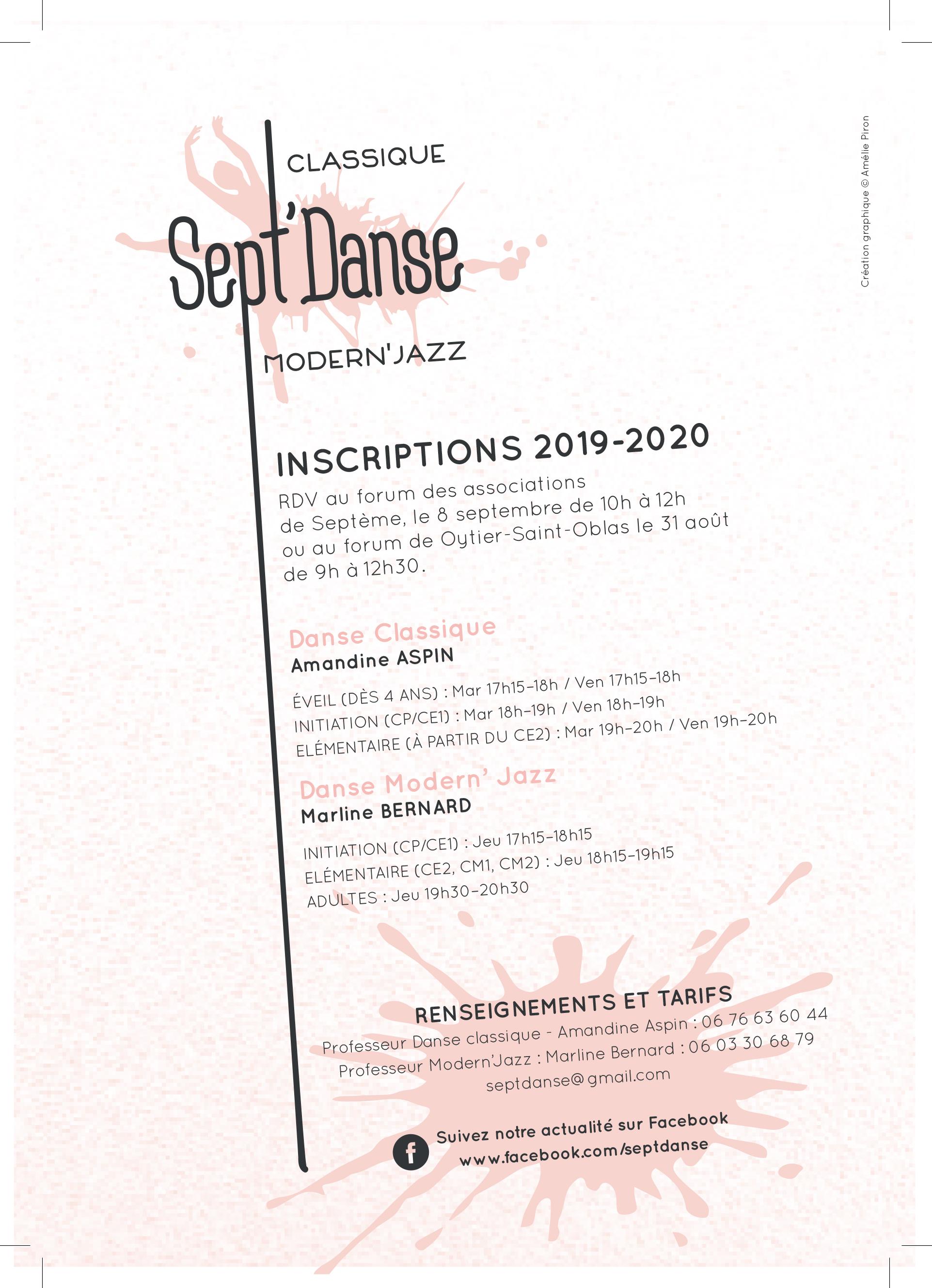 Flyer Sept danse 2019