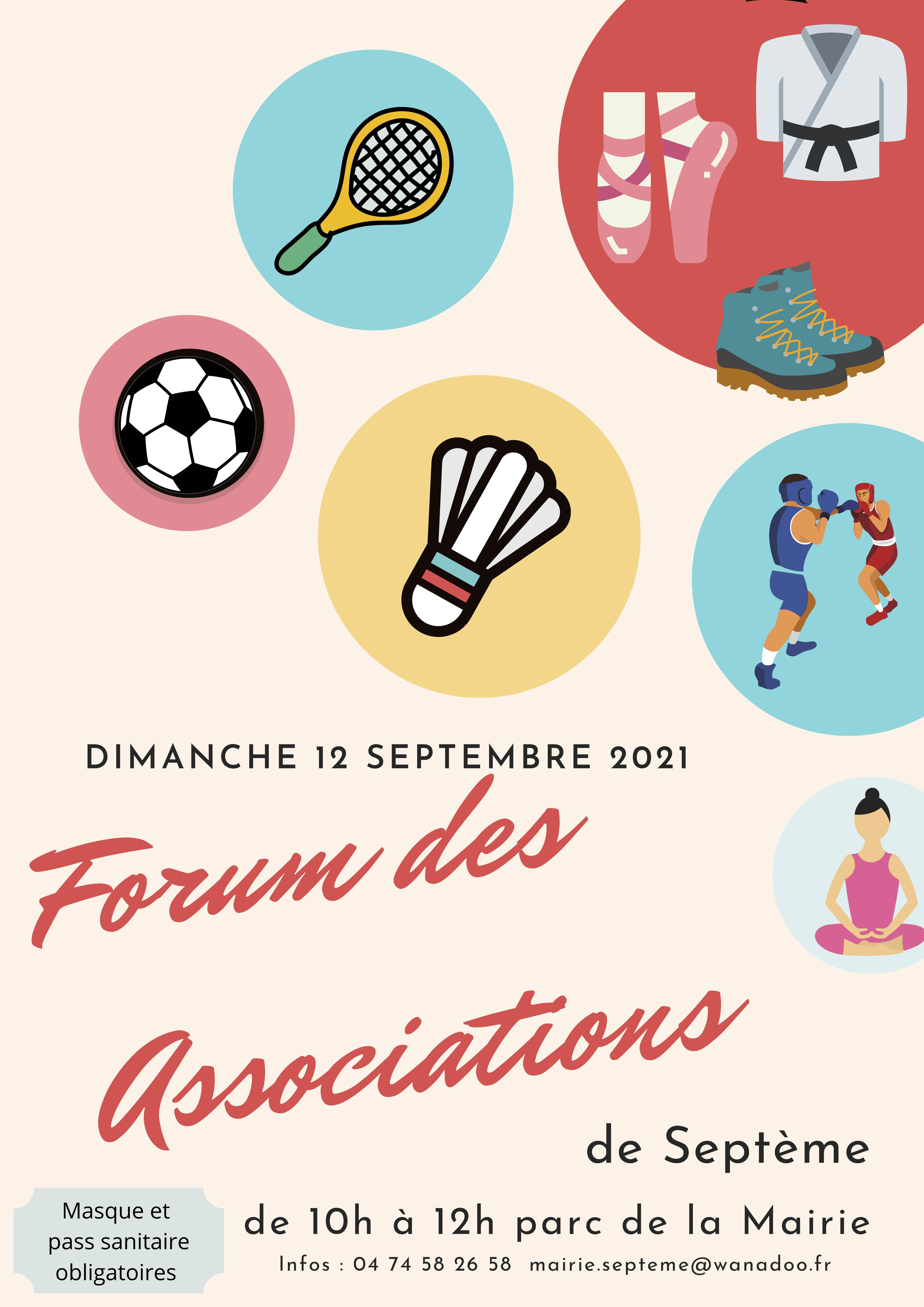 Forum des associations 12 aout 2021